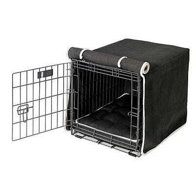 Microlinen Luxury Crate - Bowsers Pet Products STORM Microlinen Luxury Dog Crate Cover  — Pick Size