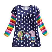 Girls Long Sleeve T Shirt 5-6