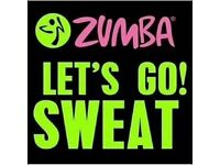 Zumba Fitness dance salsa classes keep fit weight loss tone Attleborough Baptist Church Nuneaton
