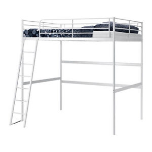 LOFT STYLE BUNK BED WITH LADDER