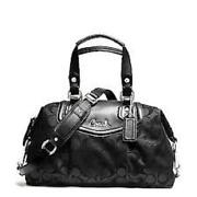 Black Coach Signature Purse