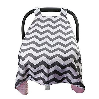 Newborn Baby Girls Boys Soft Car Seat Cover Canopy Blanket Carseat Canopies