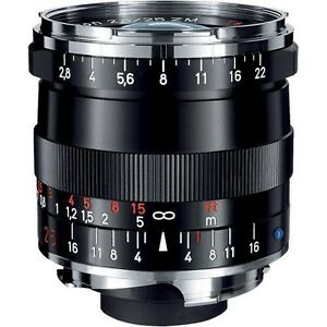 Zeiss Wide Angle 25mm f/2.8 Biogon T* ZM Manual Focus Lens