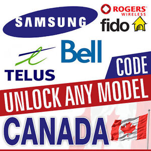 GET YOUR SAMSUNG LG HTC UNLOCKED FROM SASKTEL BELL TELUS ROGERS