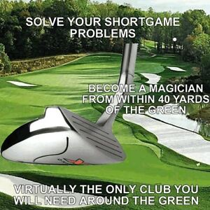 #1 PGA PURE MAGIC LOWER SCORES CHIPPER IRON CHIPPING PUTTER PUTTING WEDGE CLUB