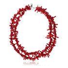 Silver Plated Red Coral Fashion Jewelry