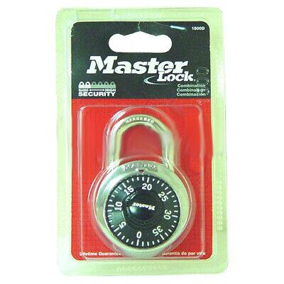 Master Lock Padlock 1500d Dial Keyless Combination Anti-theft Us Security 3 Pcs