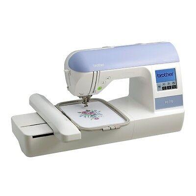 Brother PE770 PE-770 Embroidery Machine + $299 Bonus Kit NEW