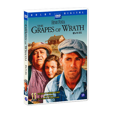 The Grapes of Wrath (1940) Henry Fonda DVD *NEW