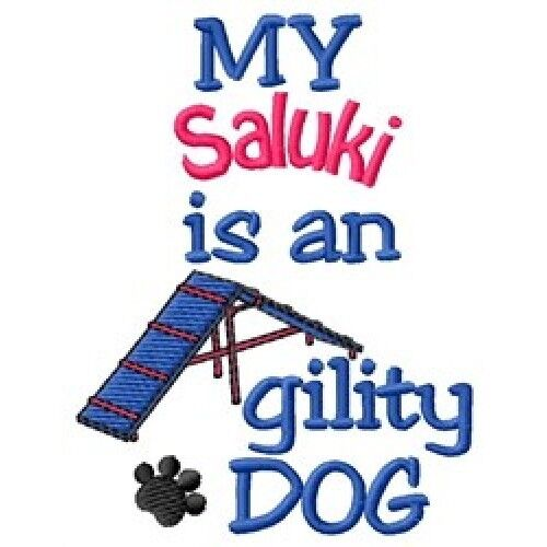 My Saluki is An Agility Dog Long-Sleeved T-Shirt DC1828L Size S - XXL
