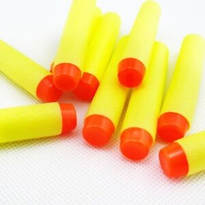 50 pcs nerf 7.2cm darts n strike elite gun refill bullets