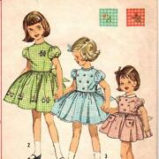 Vintage Toddler Pattern