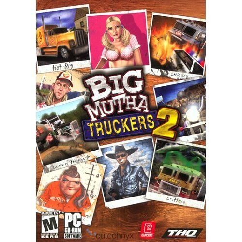 Computer Games - Big Mutha Truckers 2 PC Games Windows 10 8 7 XP Computer race comedy truck NEW