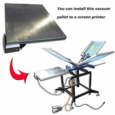 110v Stainless Steel Vacuum Pallet 50x60cm Screen Printing Equipment Diy