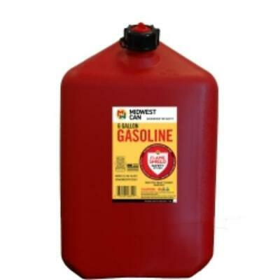 Midwest Can 6610 Fmd Gasoline Container, 6 Gallon Gas Can