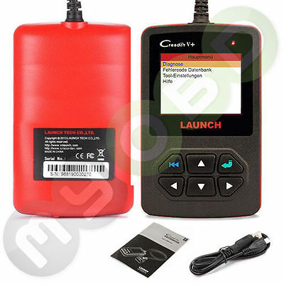 LAUNCH CReader V+ 5+ OBD2 KFZ ...