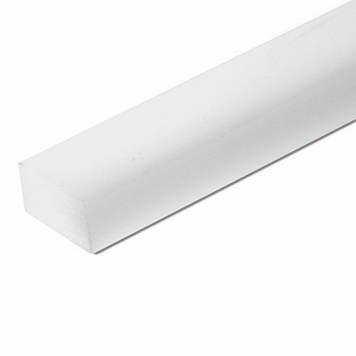 "Sibe-R Plastic Supply℠ UHMW STRIP 3/8"" X 3/4"" X 48"" ^"