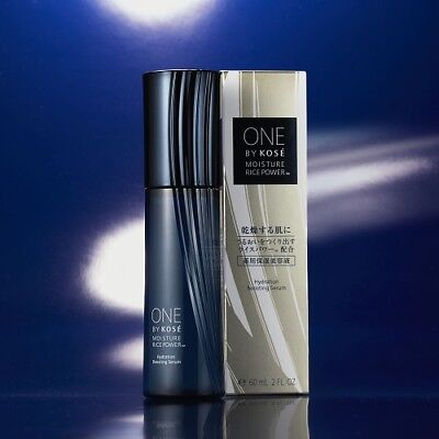 (ONE BY KOSE Rice Power 60 mL Hydration Boosting Serum Moisture improvemen)