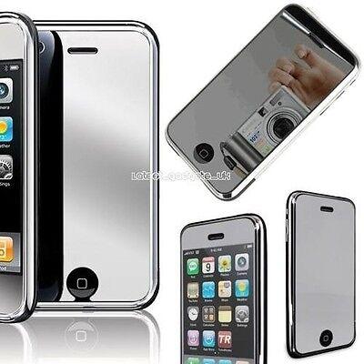 6X Mirror Lcd Screen Protector For i Phone 3G & 3GS, gebraucht gebraucht kaufen  Versand nach Germany