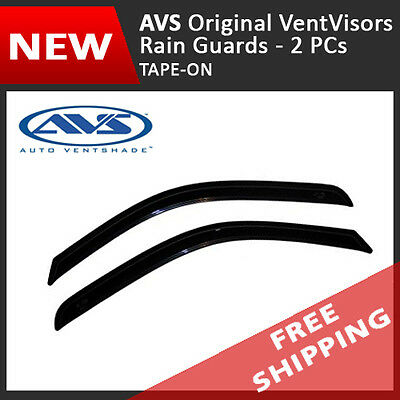 AVS Vent Visor Window Deflector Rain Guard for 1983-1994 Chevrolet Blazer 2-Door Chevrolet Blazer Vent Visor