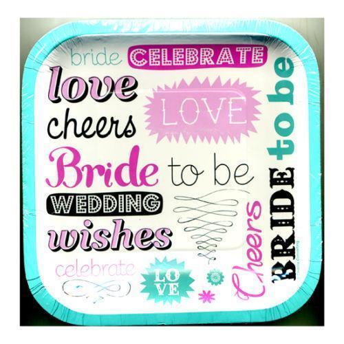 lingerie bridal shower napkins and plates