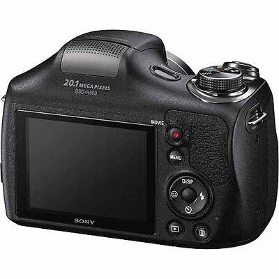 Sony Black DSC-H300/B Digital Camera with 20.1 Megapixels