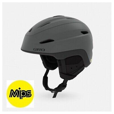 Giro Zona Mips GR.L (59-62.5cm) Sci Snowboard Casco Go pro Pov Camera Supporto