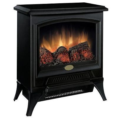 Compact Black Freestanding Electric Stove