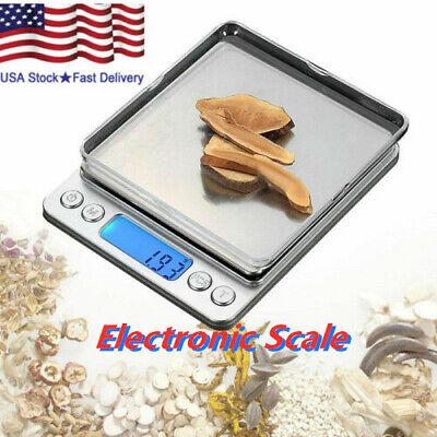 Mini LCD Digital Electronic Scale 3kg-0.1g Jewelry Pocket Kitchen Balance Weight