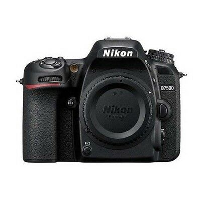 (Body Only) Nikon D7500 20.9MP Digital SLR Camera Without Lens Genuine_