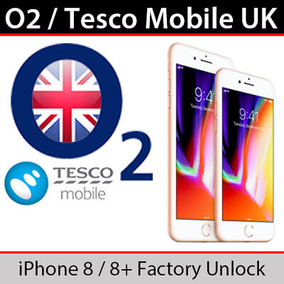 O2uk Tesco Mobile Iphone 8 8 Plus Factory Unlocking Service