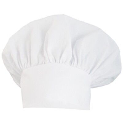 1 New Chef Hat White Black Or Red Authentic Cloth One Size Usa Seller Fast Ship