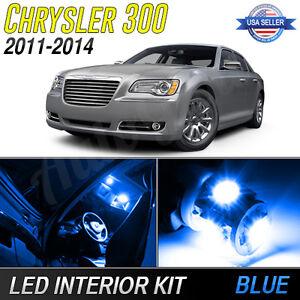 2011 2014 chrysler 300 blue led lights interior package ebay. Black Bedroom Furniture Sets. Home Design Ideas