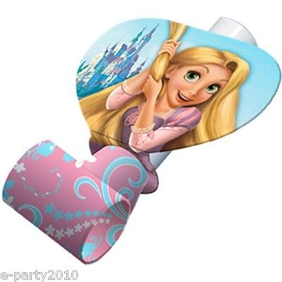 TANGLED BLOWOUTS (8) ~ Disney Princess Birthday Party Supplies Favors Rapunzel