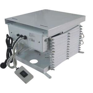 Motorised-Projector-Screen-Mount-Lift-1000mm-drop-50cmx50cm-base-hide-away