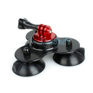 Triangle Suction Cup Mount for GoPro HERO Camera