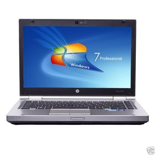 "HP Elitebook 14"" Intel i5 Dual Core 3.3GHz Turbo 4GB DVD±RW Webcam Notebook 8470"