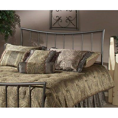 Hillsdale Furniture Edgewood Headboard in Magnesium Pewter, King NEW