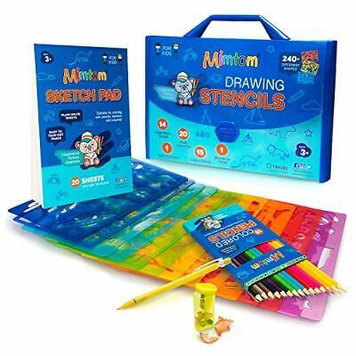 Kit de Manualidades para niños. Plantillas para pintar, niños desde 4 años