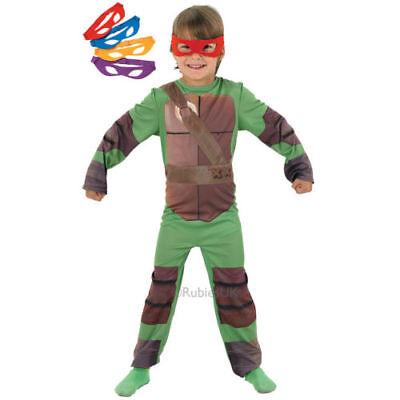 Teenage Mutant Ninja Turtle Jungen Kinder Party Kostüm klein 3 - 4 Jahre