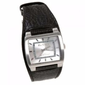 Ben Sherman Gents Watch With Silver Dial And Leather Strap - Brand New - Kilmarnock Area