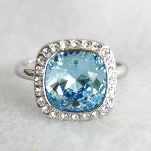Pale Blue Stone Ring