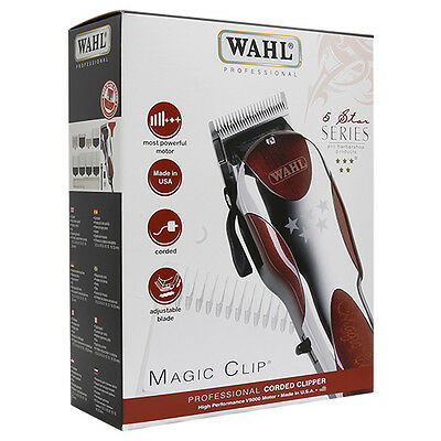 Wahl Professional 8451 5-Star Series Magic Clip Corded Clipper - NEW!
