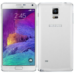 LIKE NEW WHITE SAMSUNG NOTE 4 32GB LTE - Rogers/Fido/Chatr