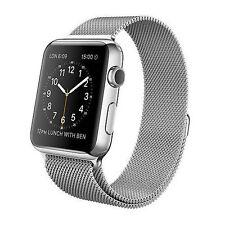 [PRE-ORDER] Apple Watch 42mm Stainless Steel Case with Milanese Loop