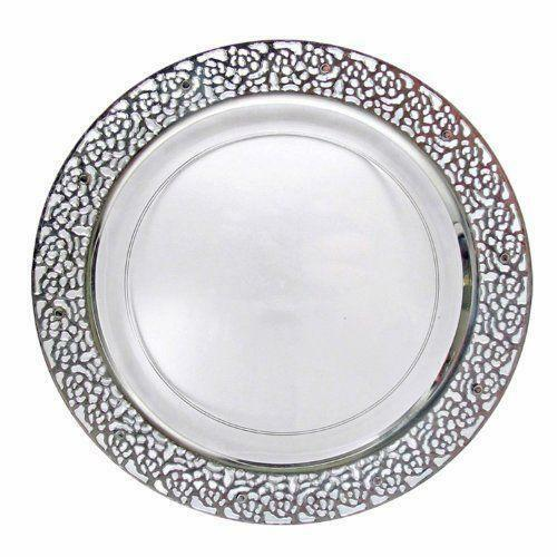 disposable wedding plates party tableware serveware ebay. Black Bedroom Furniture Sets. Home Design Ideas