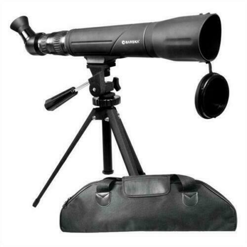 GENUINE BARSKA | SPOTTER SV ANGLED SPOTTING SCOPE 20-60 x 60mm - AU STOCK !