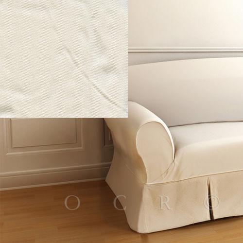 Pb Basic Sofa Slipcover Ebay: Pottery Barn Armchair Slipcover