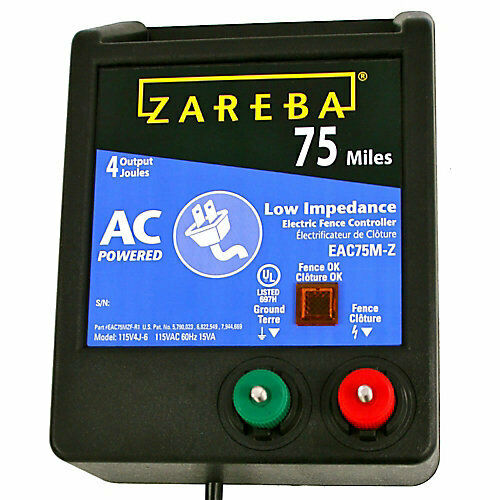 Zareba 75 Mile AC Low Impedance Charger