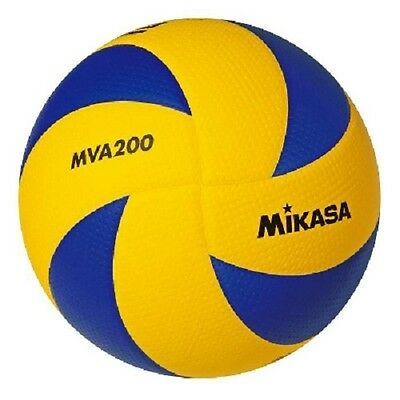 Mikasa MVA200 Official FIVB RIO 2016 Olympic Indoor Game Volleyball (US Seller)
